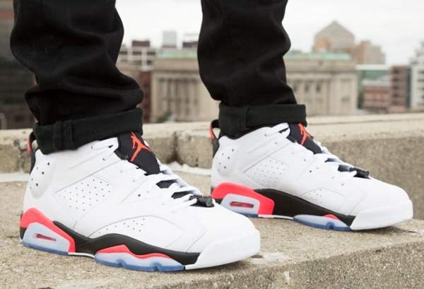 Air Jordan 6 Low White Infrared 23 (1)