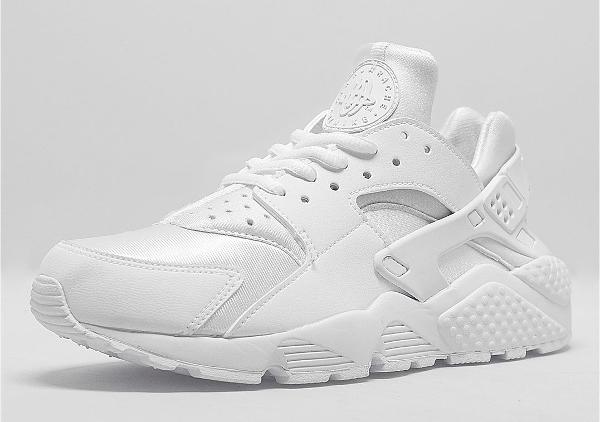 Nike Air Huarache blanche femme (1)