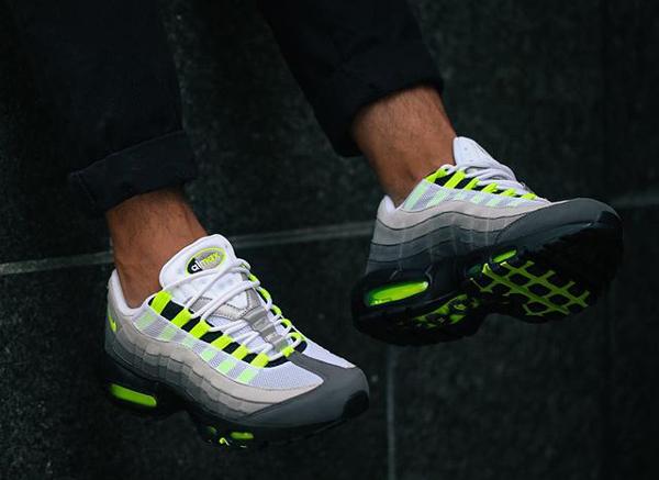 Homme Nike Air Max 95  Noir