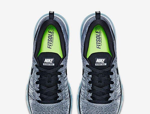 Nike Flyknit Air Max Black Cool Grey (5)