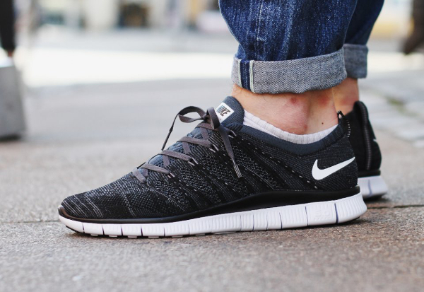 nike free flyknit nsw oreo for sale