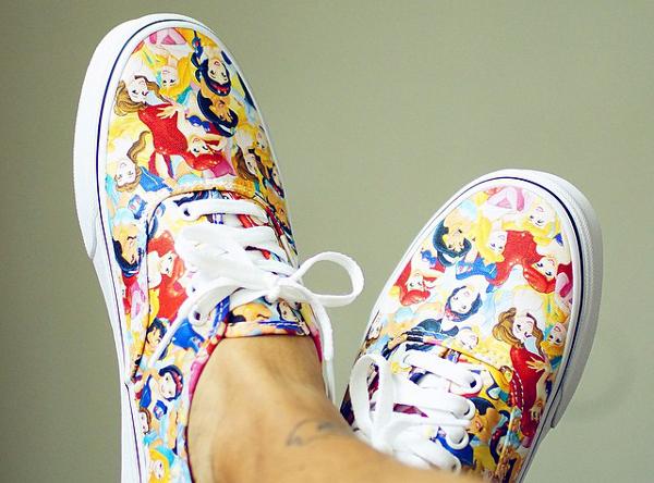 Vans Authentic Princess x Disney