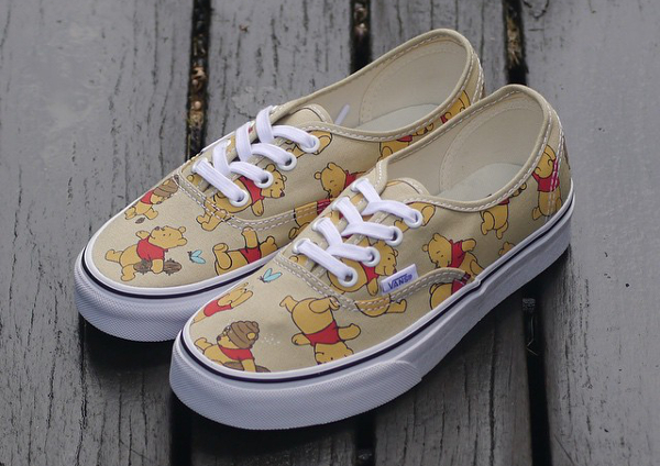 Vans Authentic x Disney 'Winnie The Pooh'