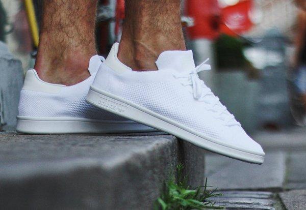 Adidas Stan Smith Primeknit Footwear White