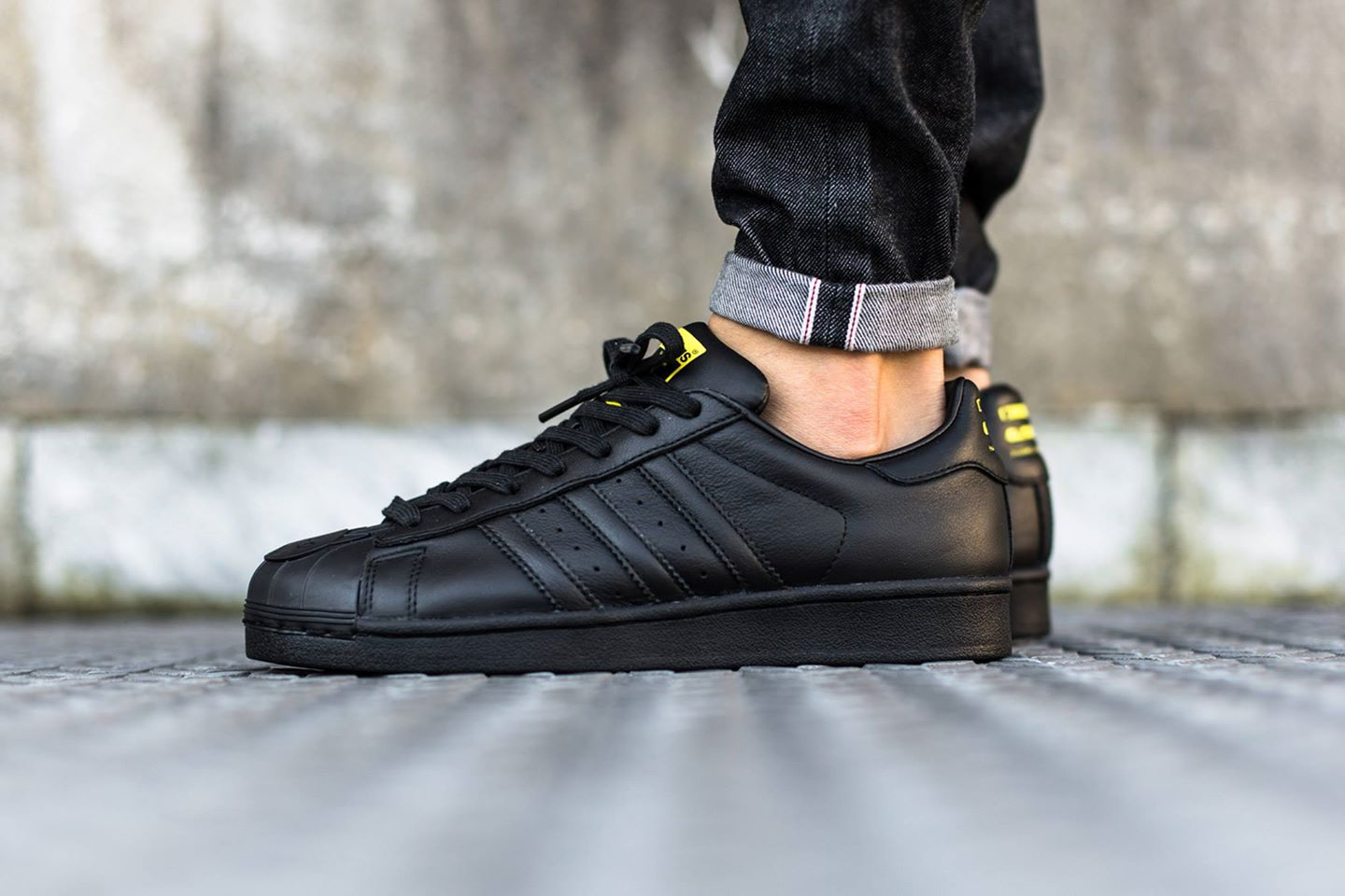 Cheap Adidas Originals Superstar Boost Trainers In Black