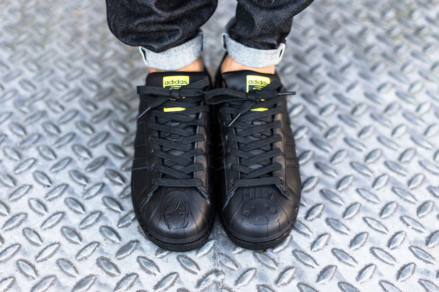 Adidas Superstar Pharrell Williams Black