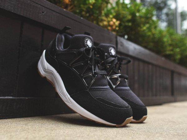 Nike Air Huarache Light Black White Light Brown (1)