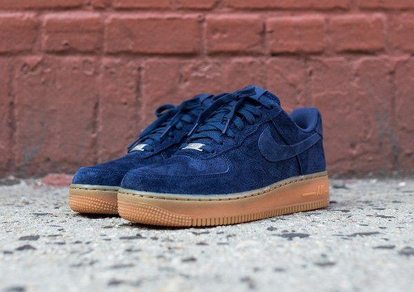 Nike Air Force 1 Suede Bleu