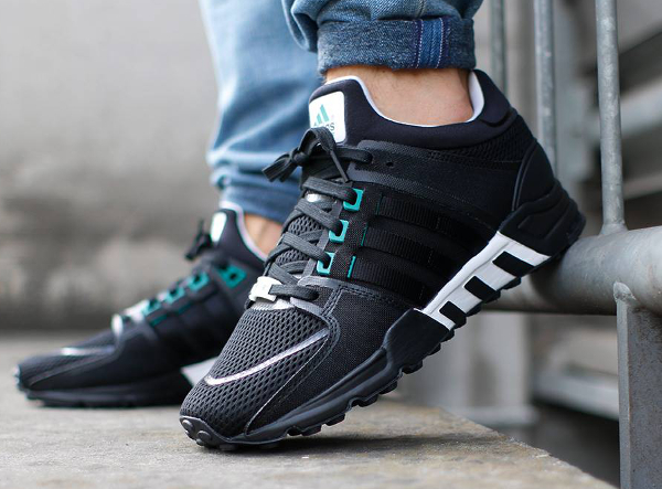 Adidas Eqt Running Support Black