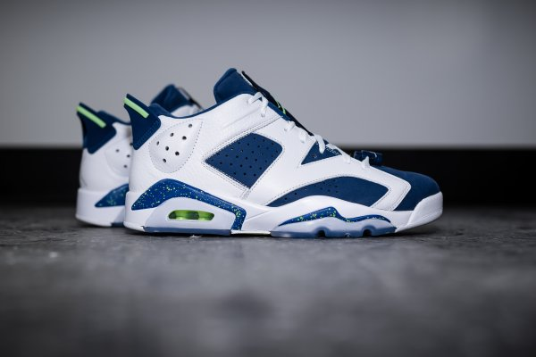 Air Jordan 6 Retro Low 'Ghost Green' pas cher