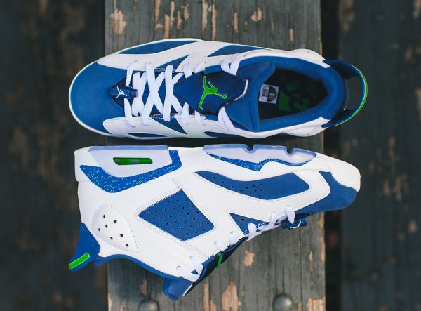 Air Jordan 6 Retro Low Seahawks (1)