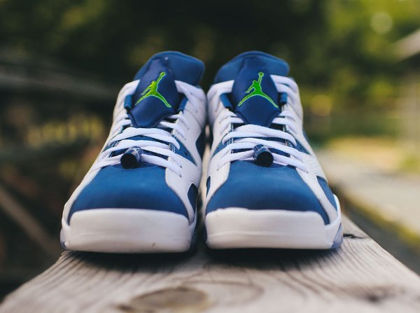 Air Jordan 6 Retro Low Seahawks (2)