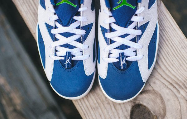 Air Jordan 6 Retro Low Seahawks (3)