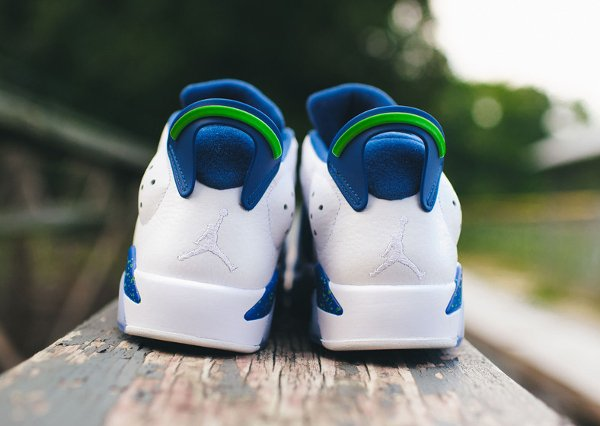 Air Jordan 6 Retro Low Seahawks (4)