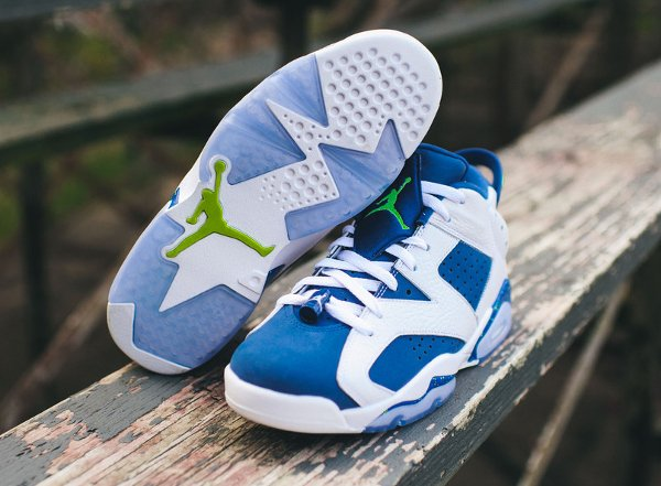 Air Jordan 6 Retro Low Seahawks (5)