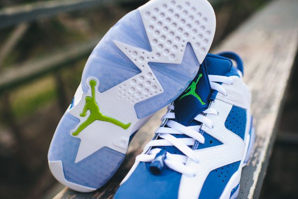 Air Jordan 6 Retro Low Seahawks (6)