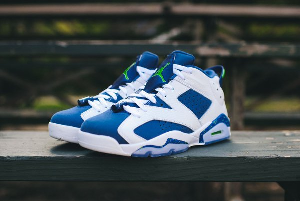 Air Jordan 6 Retro Low Seahawks (9)