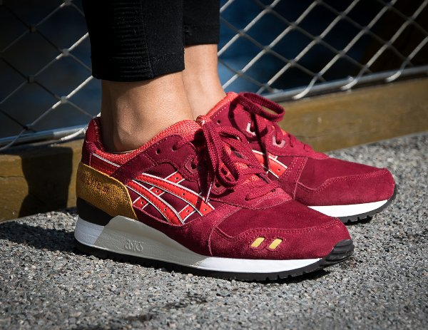 Asics Gel Lyte 3 Bordeaux