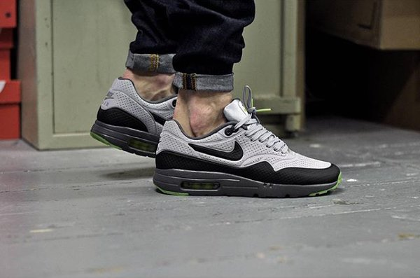 new balance homme ml574 - Nike Air Max 1 Ultra Moire Grey Black Volt | Sneakers-actus