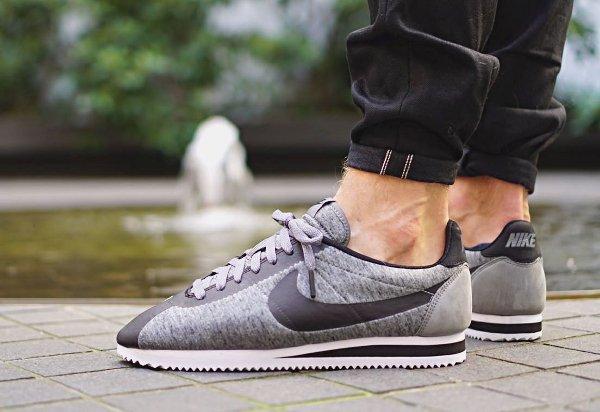 Nike Cortez Grise Et Noir