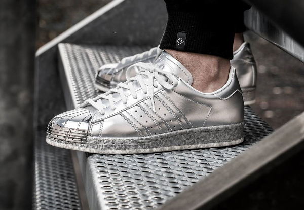 code promo ffdda a96cd Adidas Superstar Gris Metal ChaussureAdidasonlineoutlet.fr