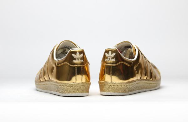 Superstar Adidas Doré