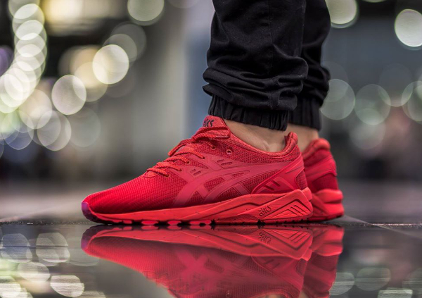 revendeur 3a578 17d46 Asics Gel Kayano Trainer Triple Red ...
