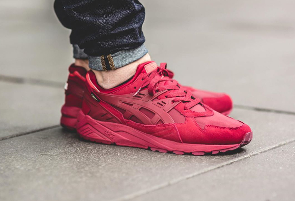 asics gel kayano 16 rouge