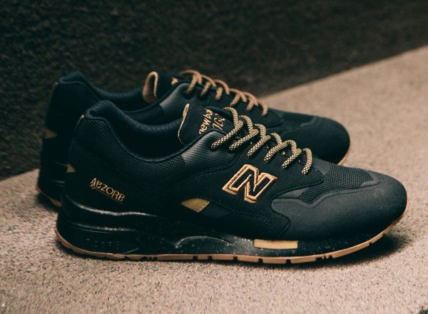 new balance 1600 black gold