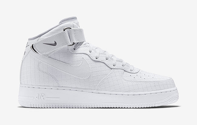 air force 1 mid 07 blanche,Nike Air Force 1 Mid 07 Wolf Grey