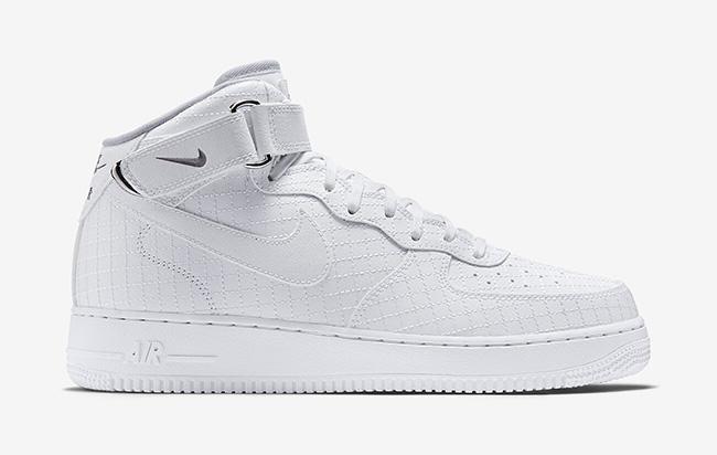 Où trouver la Nike Air Force 1 Mid 07' Blanc Cassé ?