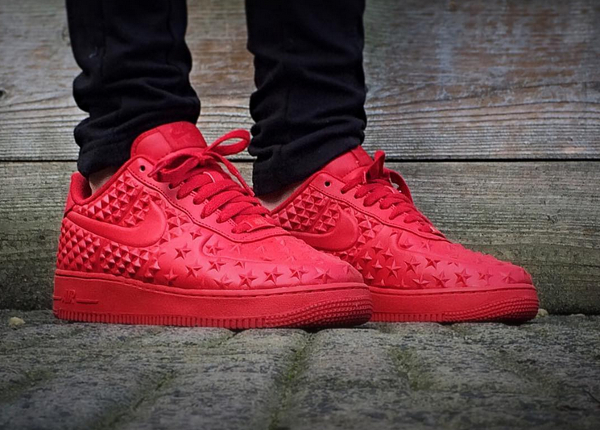 the latest fa999 89ff2 @Nike Air Force 1 LV8 VT - Red / Stars - 7.9.2015 -