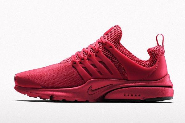 Nike Air Presto Rouge Pas Cher