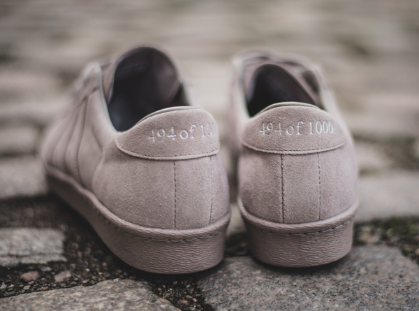 Adidas Superstar 80V Grey Metropolis