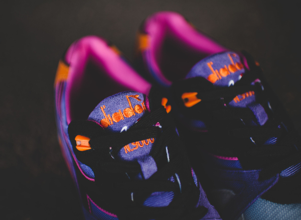 Diadora N9000 Violet Purple Orange (11)