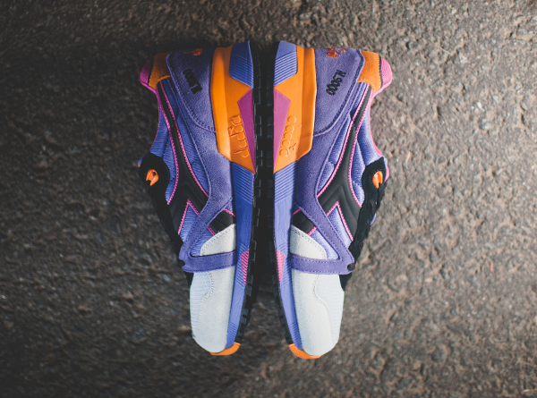 Diadora N9000 Violet Purple Orange (4)