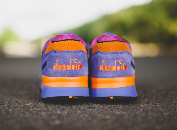 Diadora N9000 Violet Purple Orange (7)