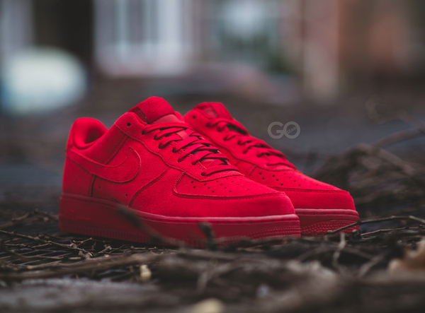 sports shoes d3ebc 71e28 air force 1 suede rouge,Nike Air Force 1 07 LV8 Team Red Ruby pas cher
