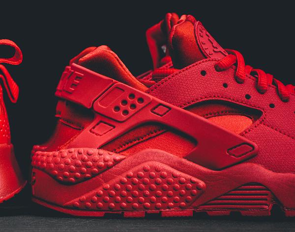 Nike Air Huarache rouge (2)