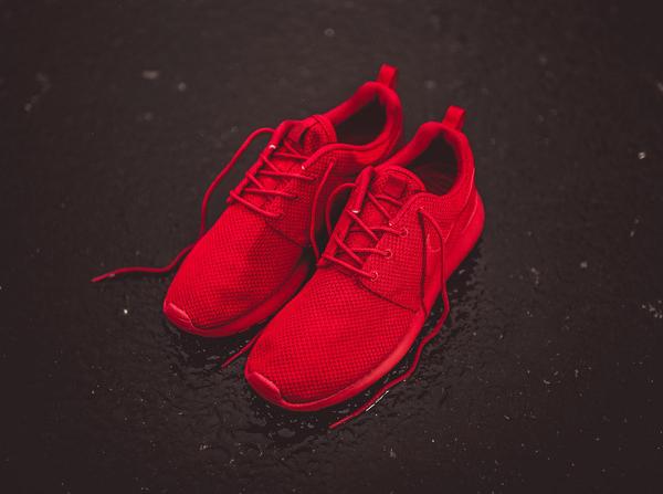 Nike Roshe Run rouge (4)