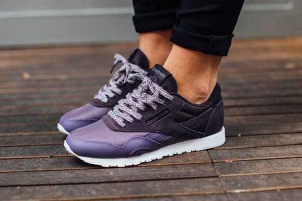 Reebok Classic Leather Femme Rouge