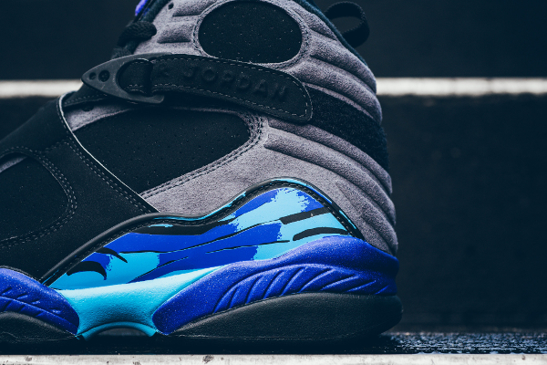 chaussures nike air jordan 8 retro Black Aqua (3)
