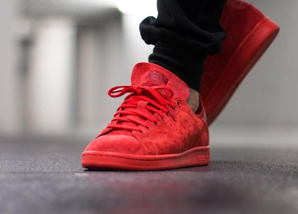 Adidas Stan Smith Red Suede