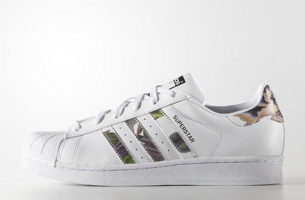 Adidas Superstar W 'Floral Stripes'