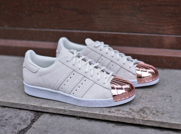 Adidas Superstar 80's Metal Toe 'White Copper'