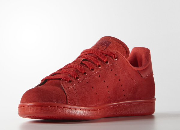 adidas stan smith rouge daim. Black Bedroom Furniture Sets. Home Design Ideas
