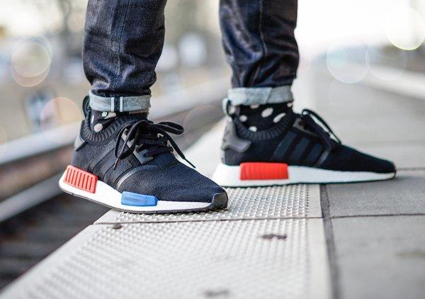 Chaussure Adidas NMD Boost Runner_1 PK noire (15)