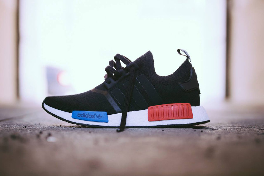 Chaussure Adidas NMD R1 Primeknit PK OG 'Core Black' (homme) (1)