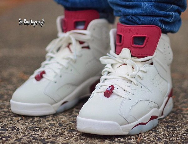 air jordan 6 maroon (2013)