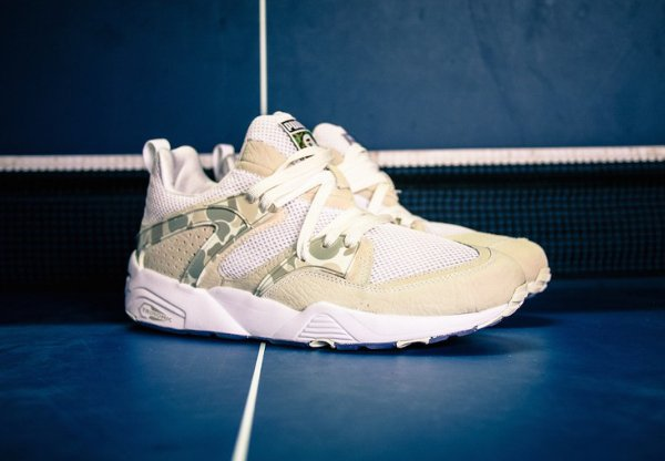 Puma Blaze Of Glory x A Bathing Ape Camouflage White (1)
